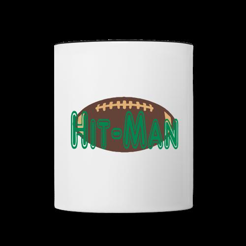 Hitman football design - Contrast Coffee Mug