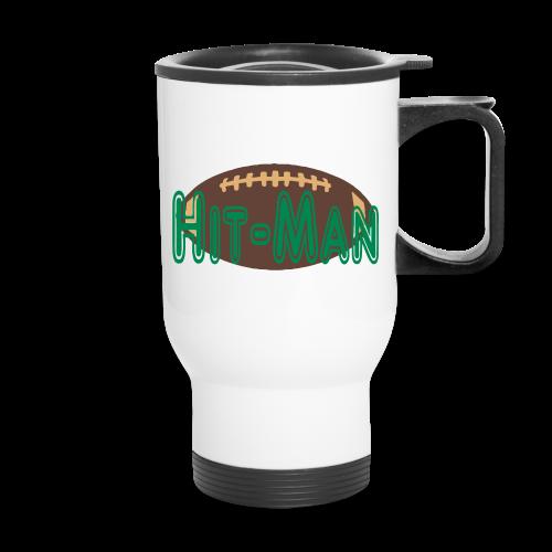 Hitman football design - Travel Mug