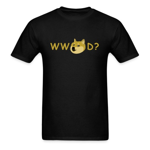 What Would Doge Do? - Men's T-Shirt