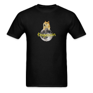 T-Shirts ~ Men's T-Shirt ~ Doge on the Moon