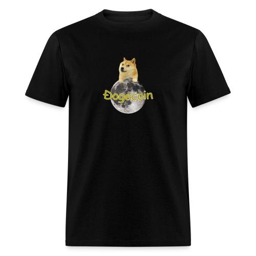 Doge on the Moon - Men's T-Shirt