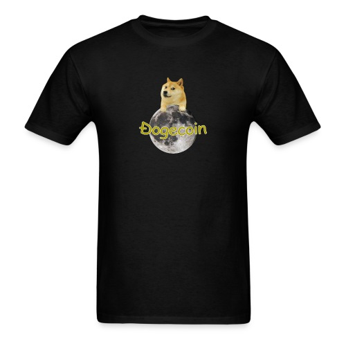 Doge on the Moon - Men's T-Shirt