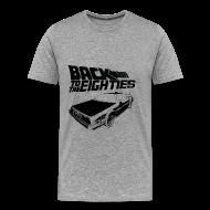 T-Shirts ~ Men's Premium T-Shirt ~ Back to the Eighties
