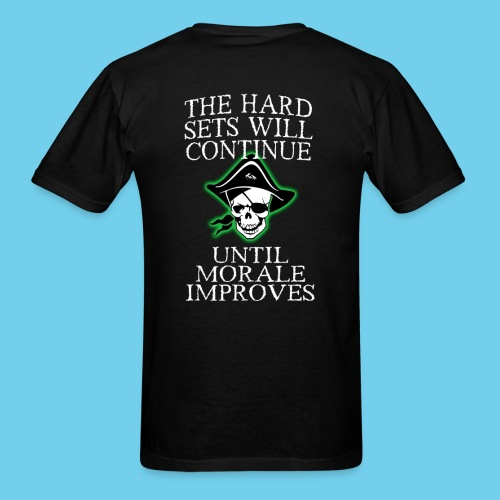 Hard sets will continue- Male Coach Tee - Men's T-Shirt