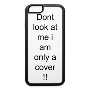 Dont look at me - iPhone 6/6s Rubber Case