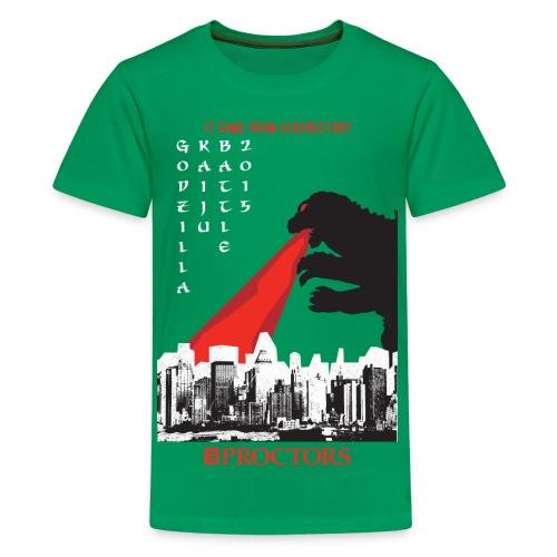 Godzilla Kaiju Battle 2015 - Kids' Premium T-Shirt