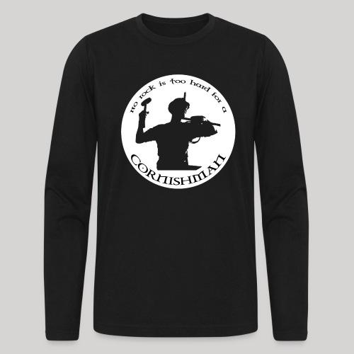 No Rock Too Hard - Men's Long Sleeve T-Shirt by Next Level