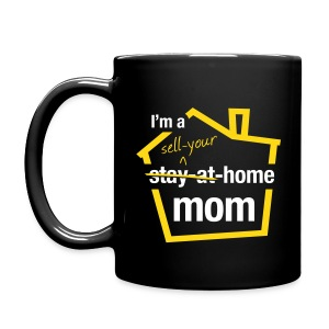 Sell Your Home Mom blk mug right - Full Color Mug