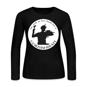 No Rock Too Hard  - Women's Long Sleeve Jersey T-Shirt