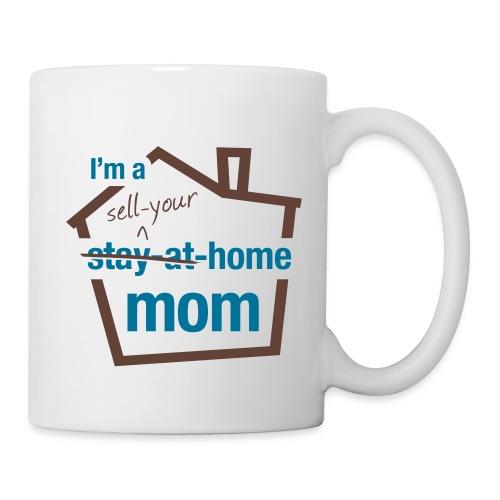 Sell Your Home Mom wht mug left - Coffee/Tea Mug