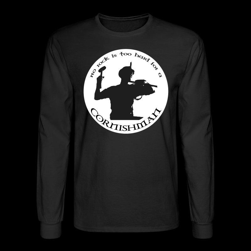 No Rock Too Hard  - Men's Long Sleeve T-Shirt