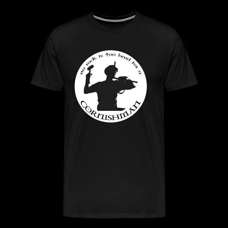 No Rock Too Hard  - Men's Premium T-Shirt