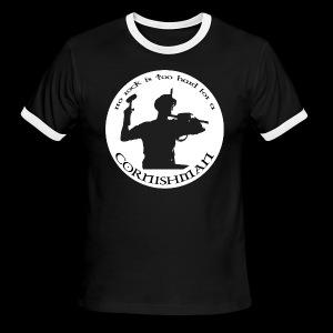 No Rock Too Hard  - Men's Ringer T-Shirt