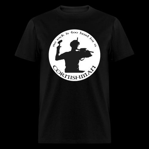 No Rock Too Hard  - Men's T-Shirt