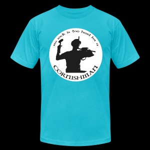 No Rock Too Hard  - Men's Fine Jersey T-Shirt