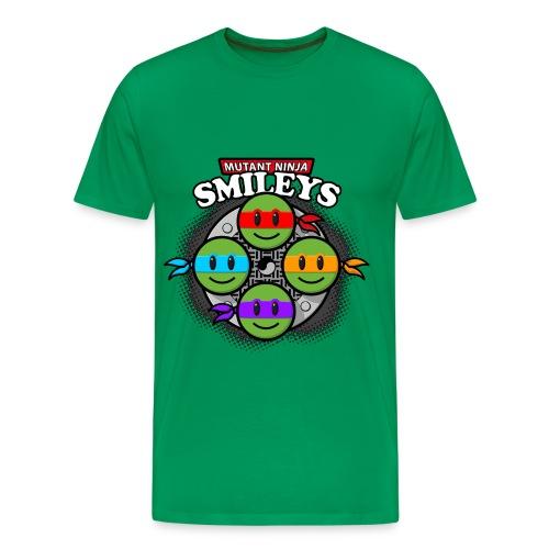 Teenage mutand Ninja Smileys - Men's Premium T-Shirt