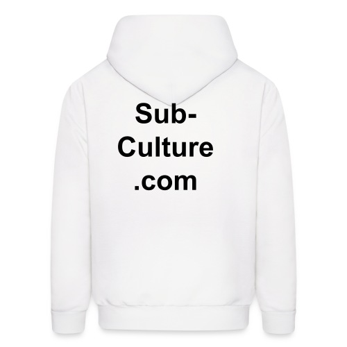 Sub-Culture.com  (Front and back) - Men's Hoodie