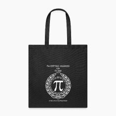 I'm Getting Married On Pi Day Tote Bag