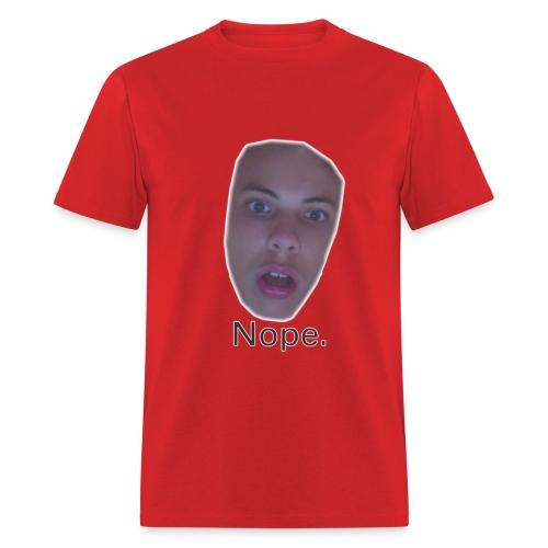 Nope Face - Men's T-Shirt