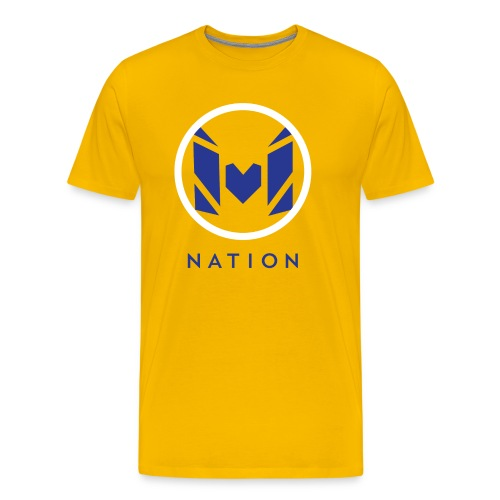 Molo Nation Official T-Shirt (Gold Rush) - Men's Premium T-Shirt
