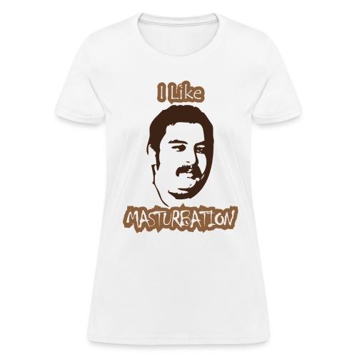 Chris Wreckless Masturbation Shirt (Women's) - Women's T-Shirt