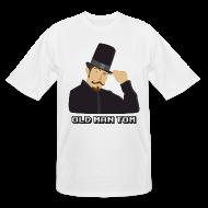 T-Shirts ~ Men's Tall T-Shirt ~ Old Man Tom Stay Classy Tall Shirt