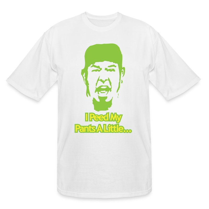 Matt Zion I Peed Myself Tall Shirt - Men's Tall T-Shirt