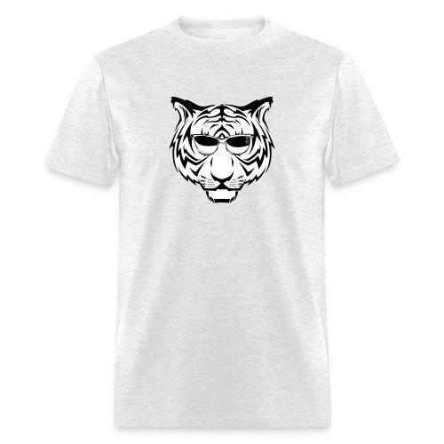 sunglasses tiger - Men's T-Shirt