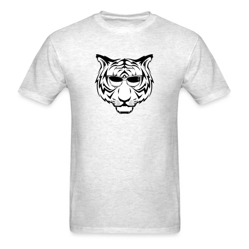 sunglasses tiger - Men's T-Shirt