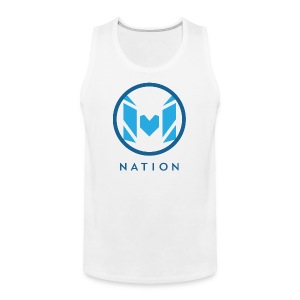 Molo Swag Tank (Surf Blue) - Men's Premium Tank