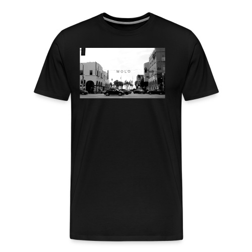 Molo T-Shirt (Venice Edition Black) - Men's Premium T-Shirt