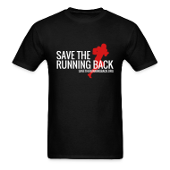 T-Shirts ~ Men's T-Shirt ~ Save the Running Back