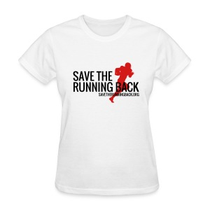 Save the Running Back - Women's T-Shirt