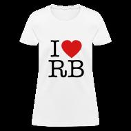 T-Shirts ~ Women's T-Shirt ~ I Heart RB
