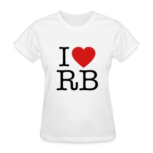 I Heart RB - Women's T-Shirt