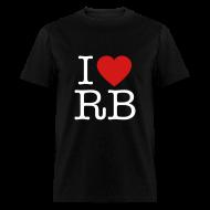 T-Shirts ~ Men's T-Shirt ~ I Heart RB