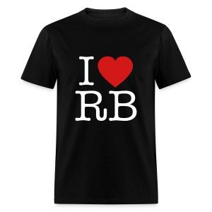 I Heart RB - Men's T-Shirt