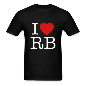 I Heart RB - Men's T-Shirt