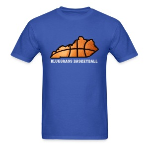 Basketball State Tee (White Font) - Men's T-Shirt