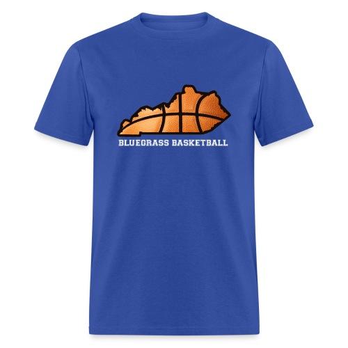 Basketball State Tee (White Font) - Men's T-Shirt