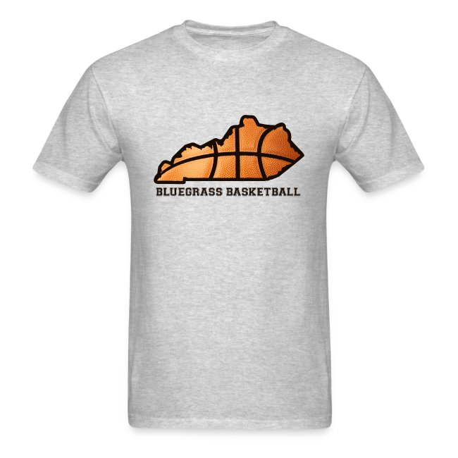 Basketball State Tee (Black Font)