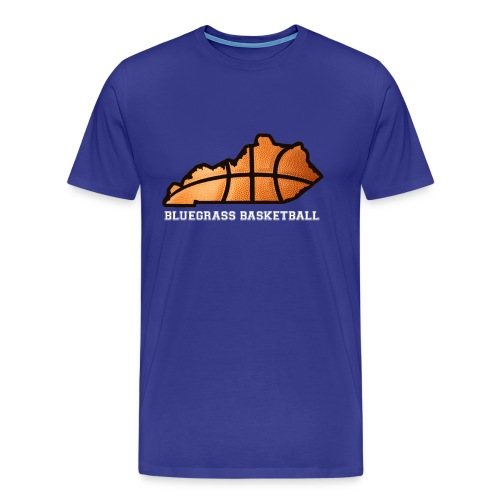 EXTENDED SIZES State Basketball Tee - Men's Premium T-Shirt