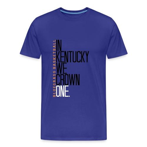 EXTENDED SIZE Kentucky Crowns One - Men's Premium T-Shirt