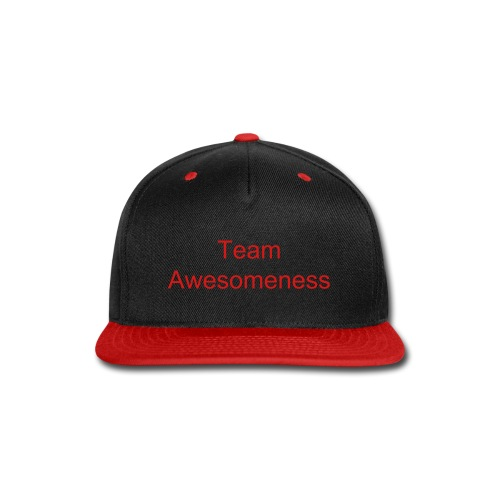Team awesomeness hat - Snap-back Baseball Cap