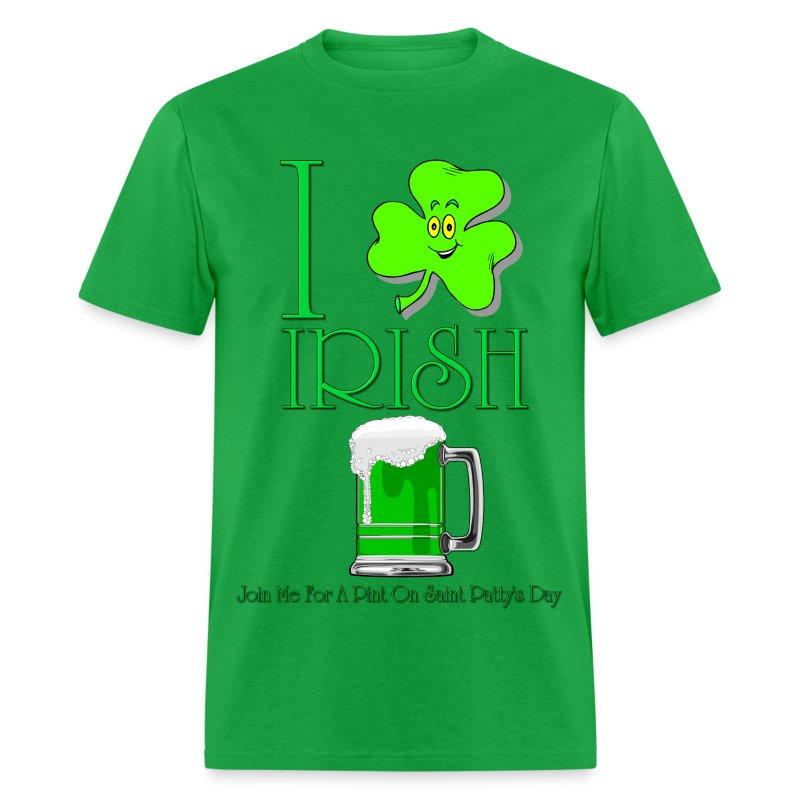 I Love Irish Boys Shirt I Love Irish Beer Men'...