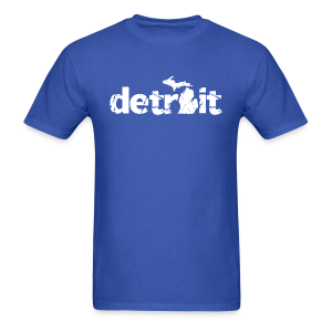 DETROIT-MICHIGAN - Men's T-Shirt