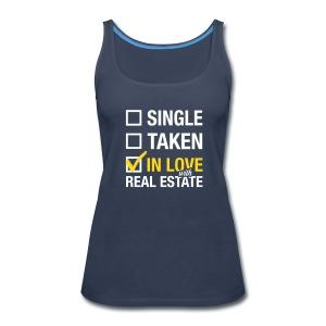 Single Taken In Love Premium - Women's Premium Tank Top