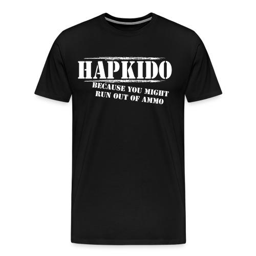 Hapkido T-Shirt Run out of Ammo - Men's Premium T-Shirt