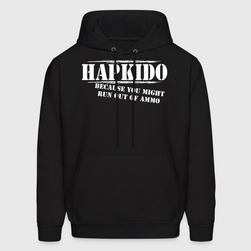 Hoodie Hapkido T Shirt Run out of Ammo - Men's Hoodie