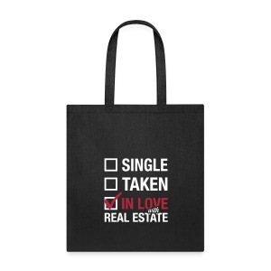 Single Taken In Love Tote - Tote Bag